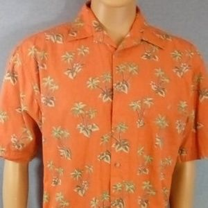 Pierre Cardin Hawaiian Button Down Shirt